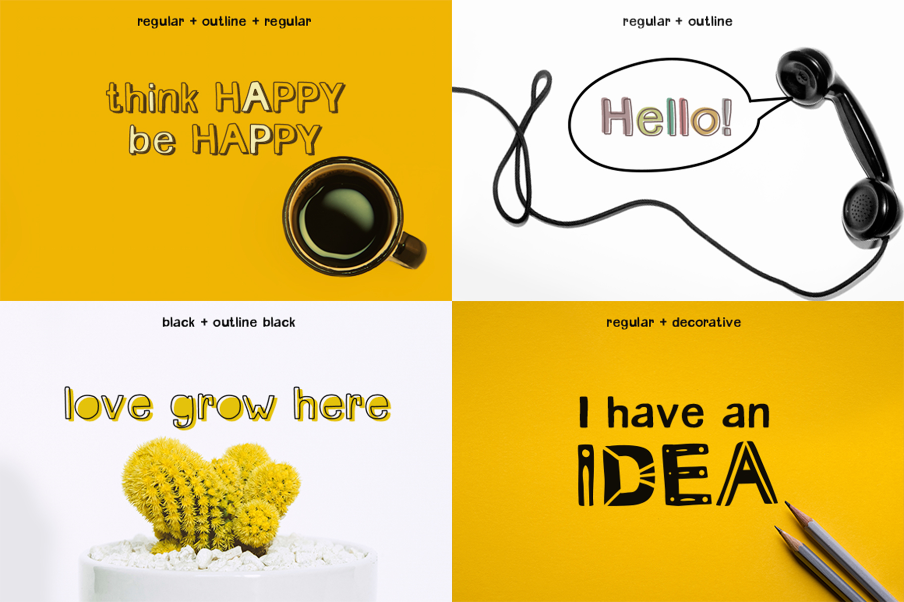 Millennials Font Family example image 2