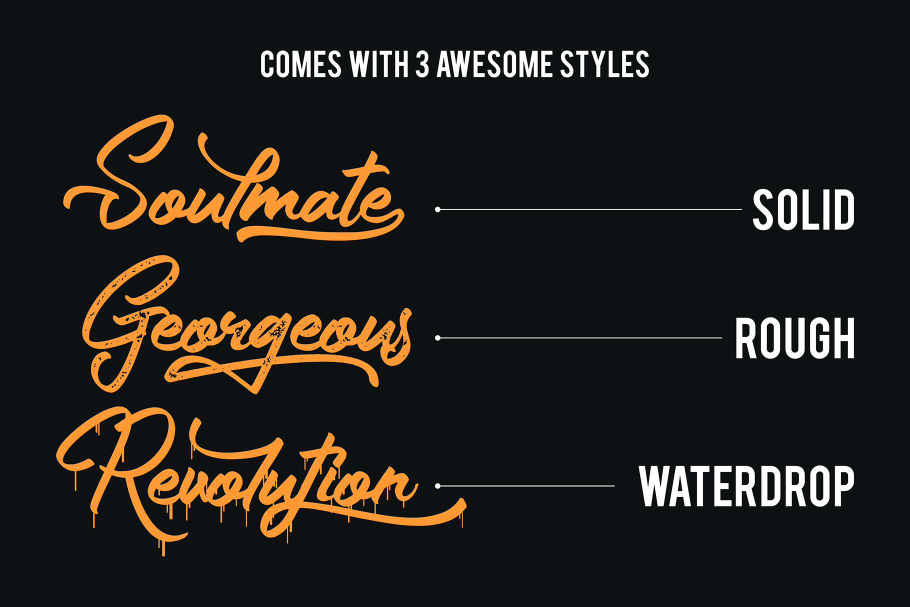 The Gunslinger - 3 Style Font example image 2