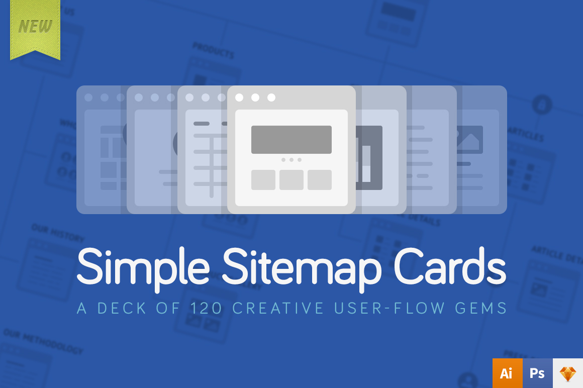 Simple Sitemap Cards example image 1