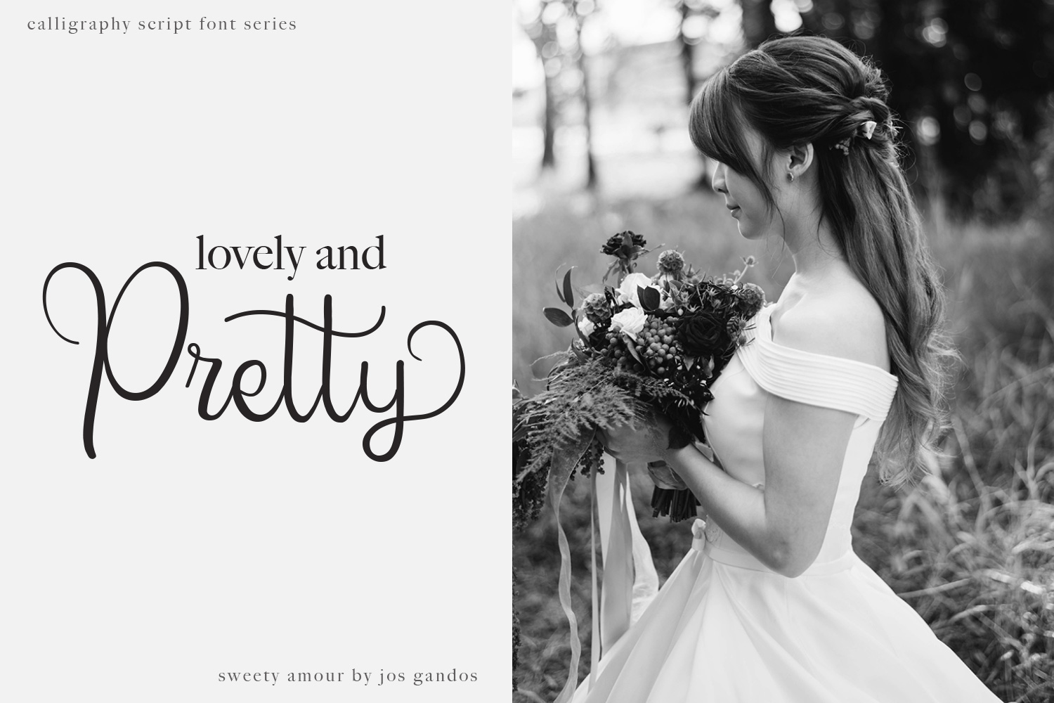 Sweety Amour Calligraphy Font example image 3