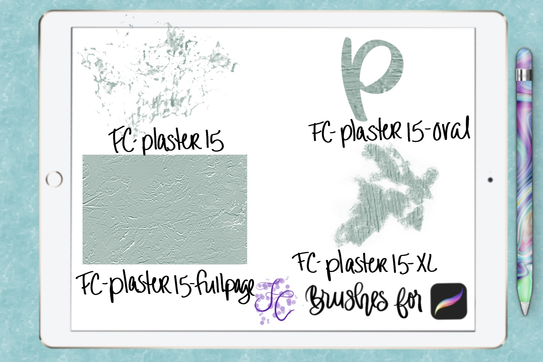 FC-plaster-set2 for PROCREATE example image 6