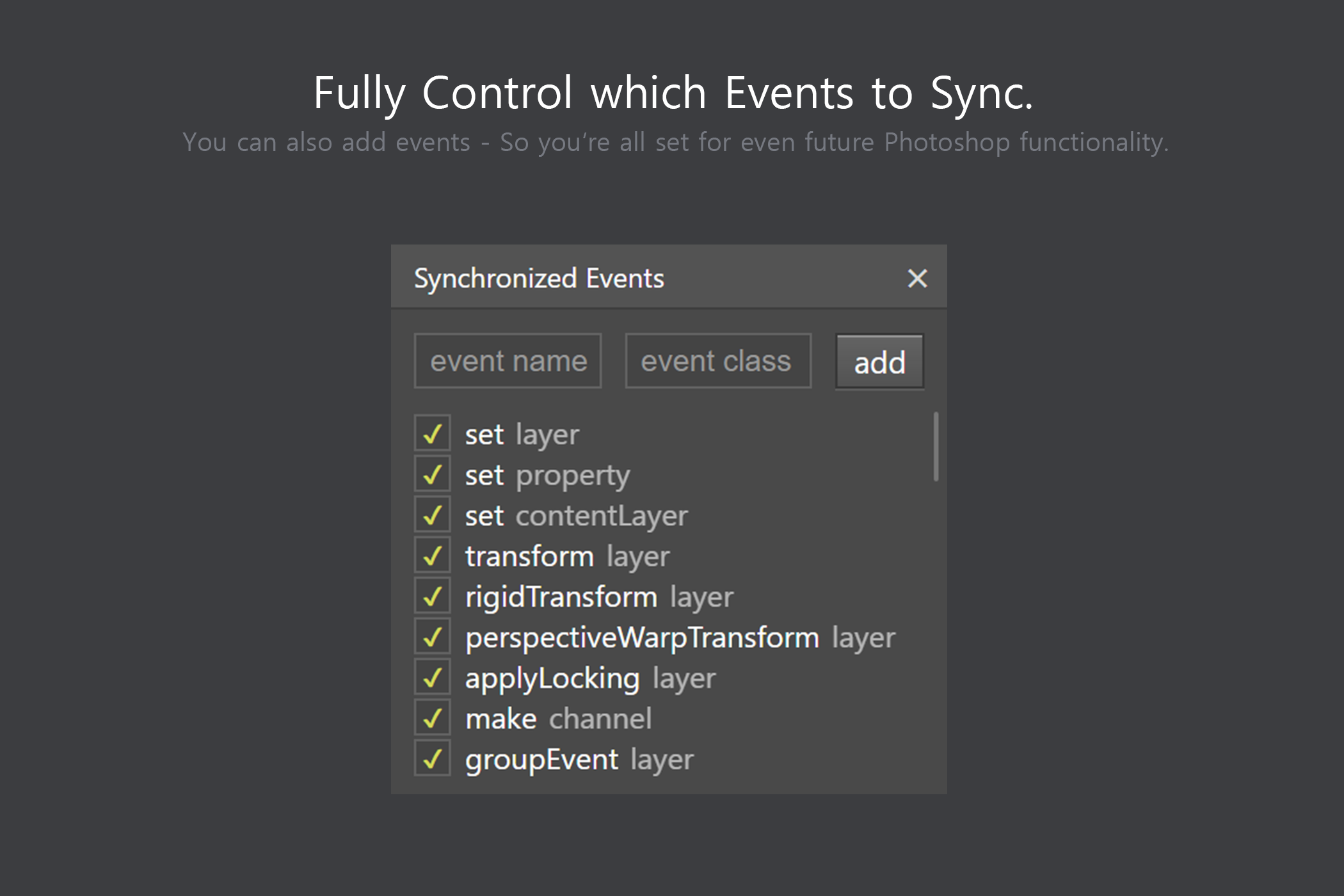 Sync Edit - Layer Synchronize Kit example image 8