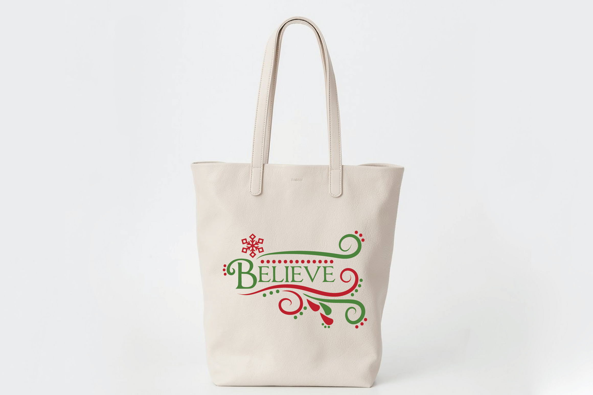 Believe SVG Cut File - Christmas SVG - DXF - PNG - EPS example image 8