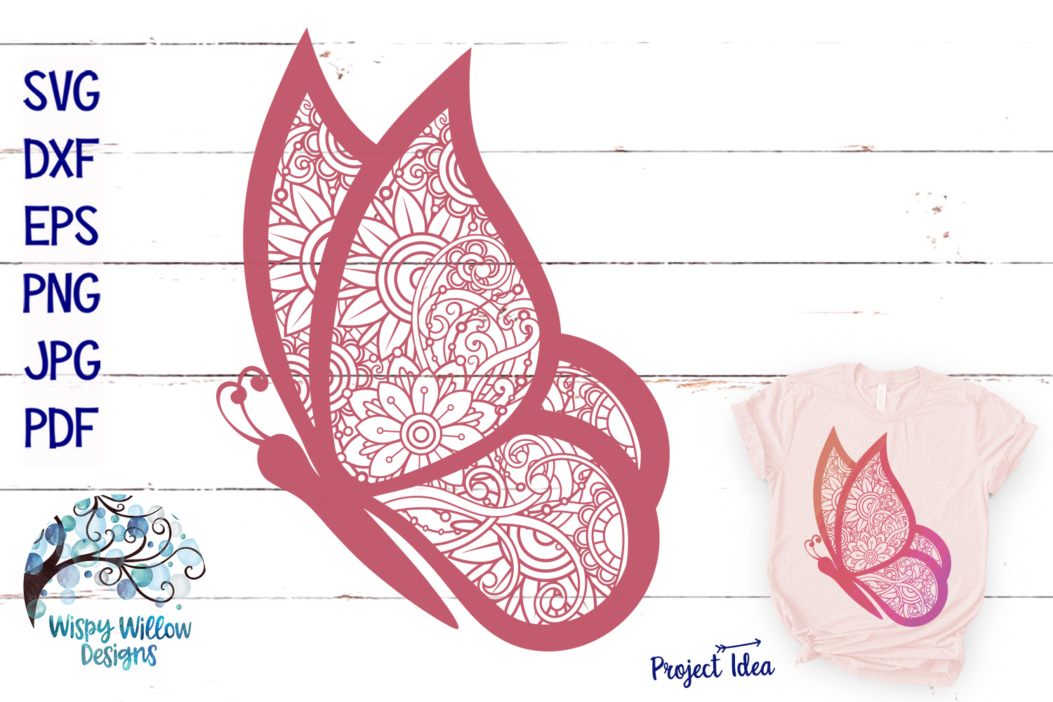 The Summer Zentangle SVG Bundle | Mermaid | Pineapple example image 6