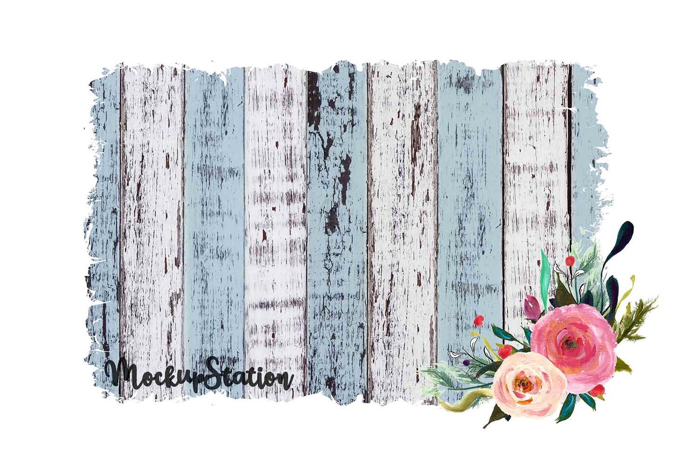Sublimation Wood Background PNG Bundle, Frame Clip Art example image 4