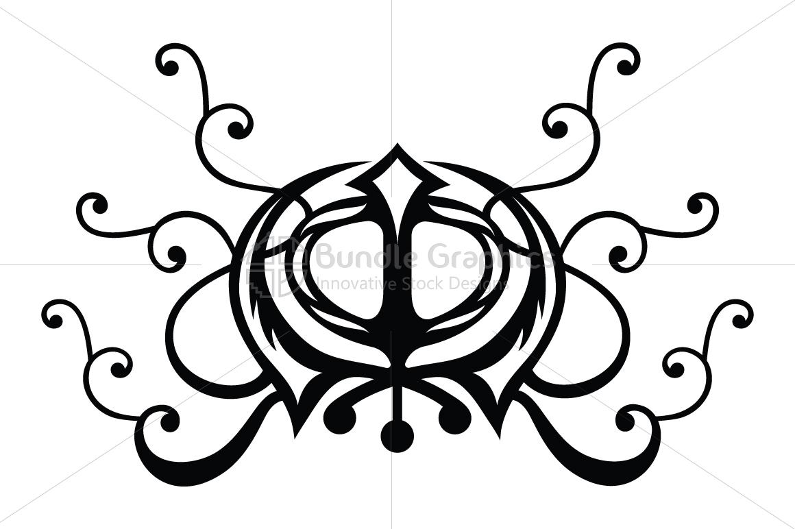 Khanda Sahib - Sikh Religious Illustrative Symbol example image 1