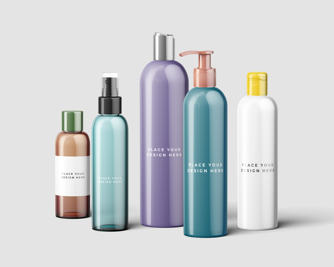 Cosmetic Bottles Mockup Vol.3 example image 2