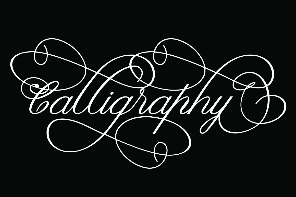 Claudia Calligraphy example image 9