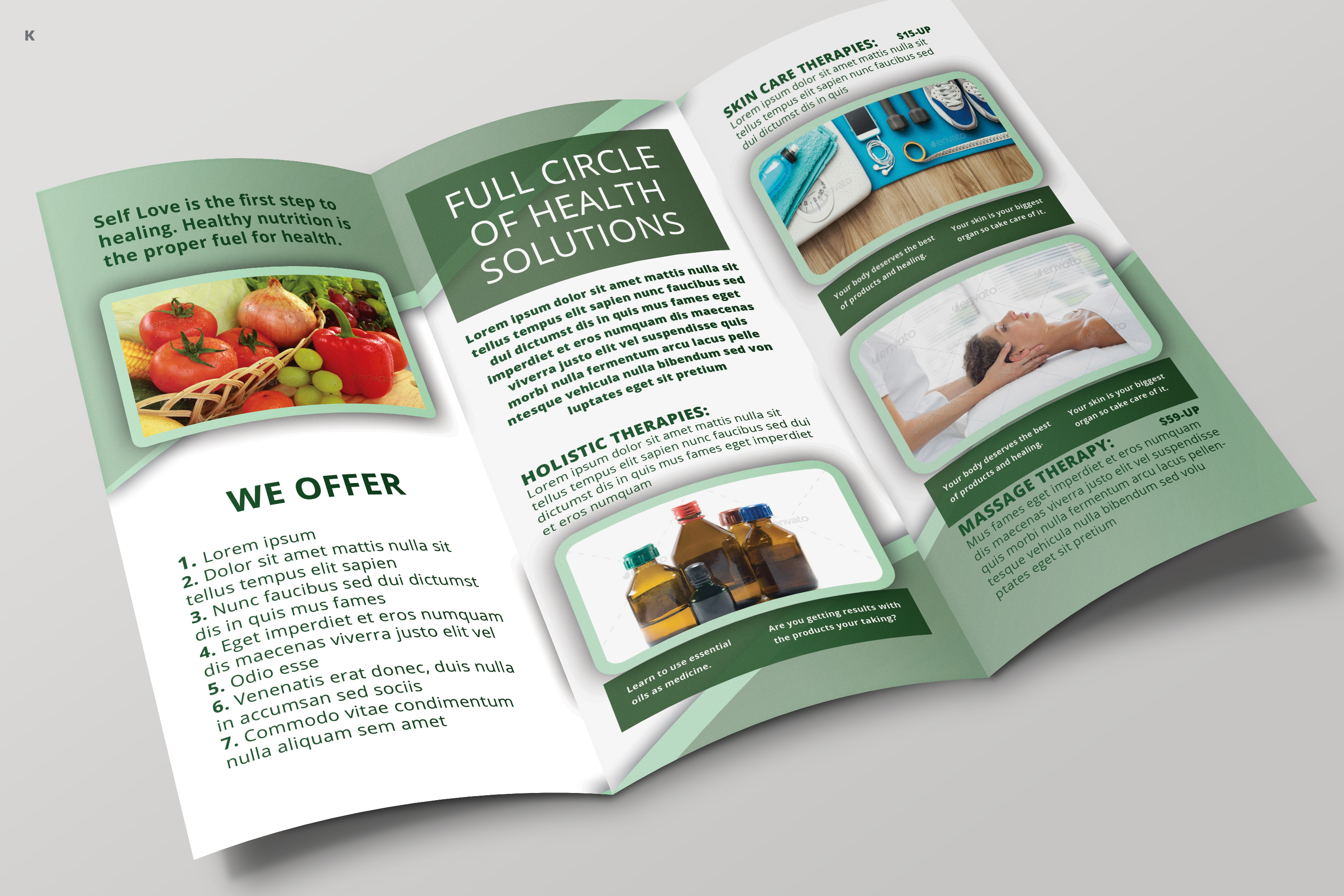 Health Care Trifold example image 3