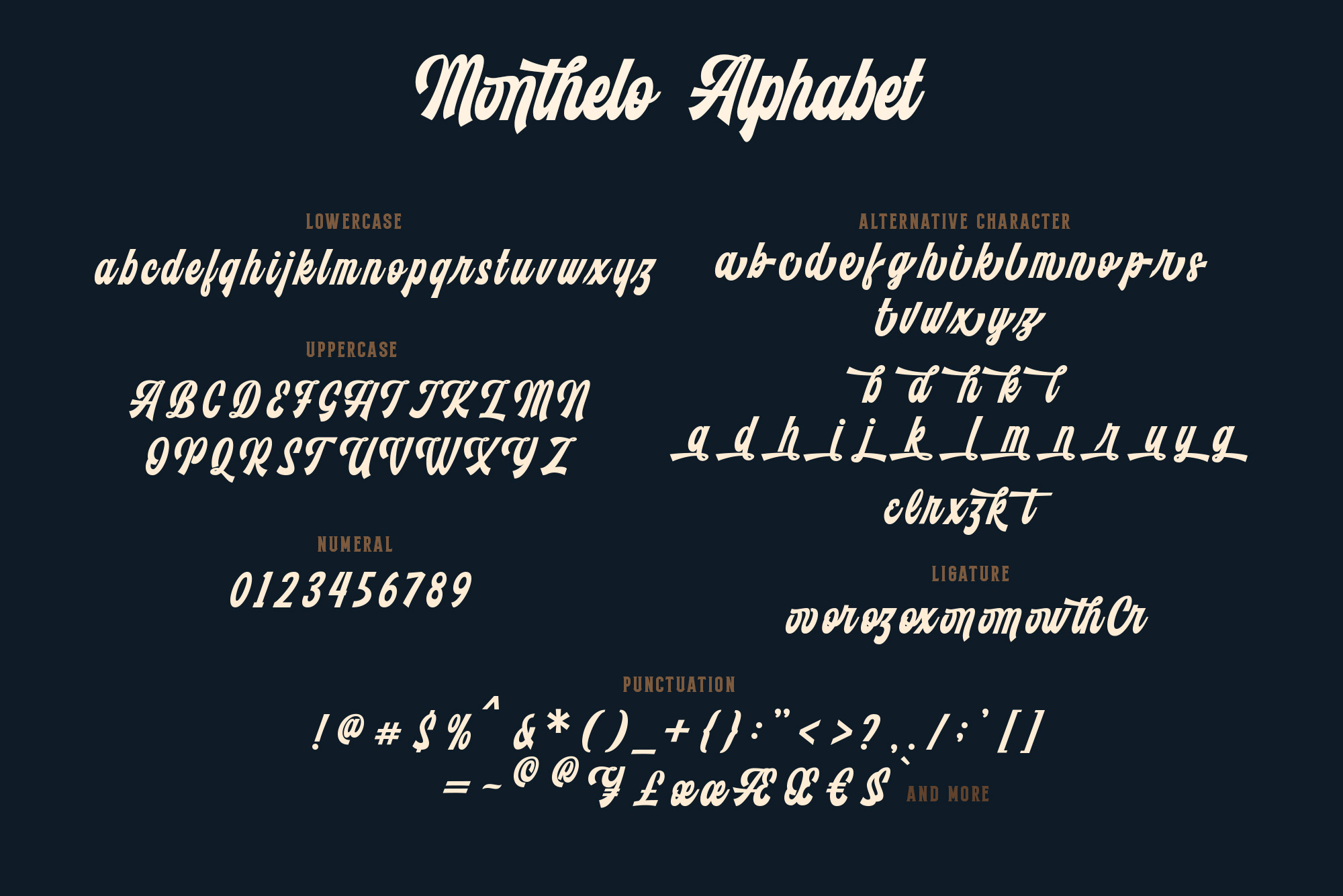 Monthelo - 3 font example image 7