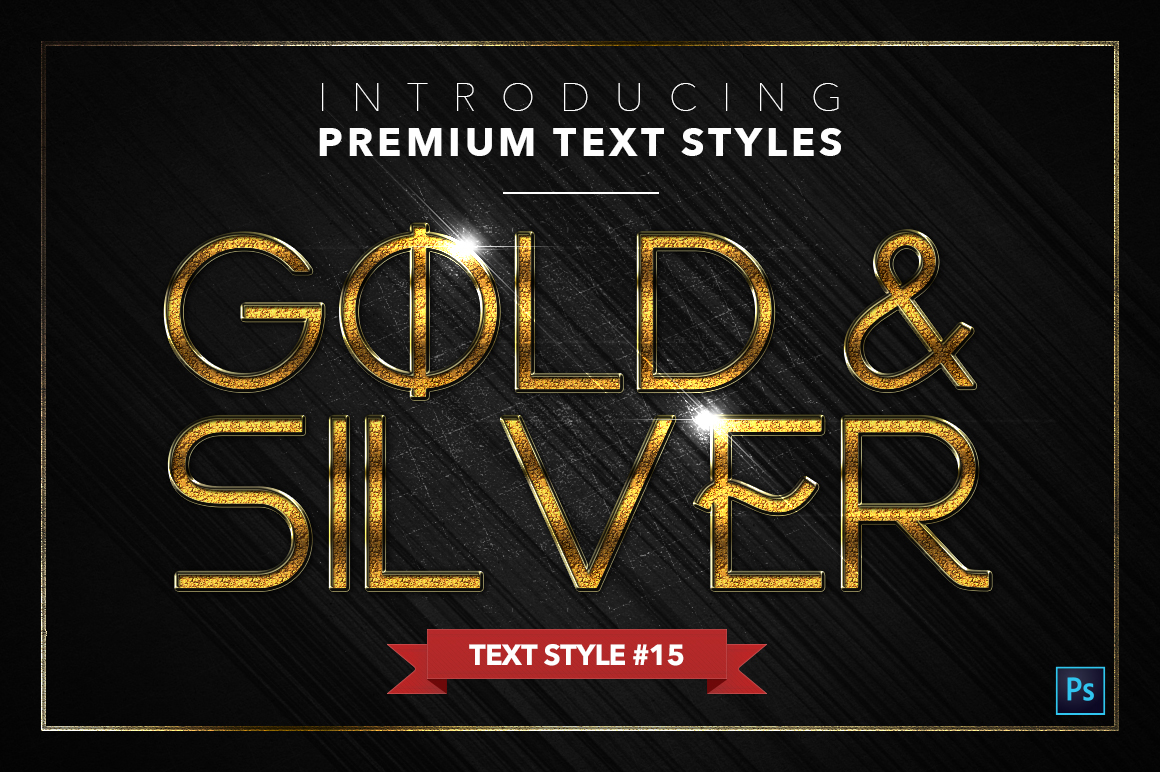 Gold & Silver #5 - 15 Text Styles example image 16
