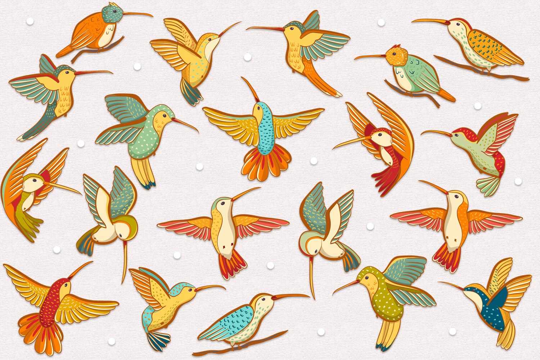 Hummingbirds example image 2