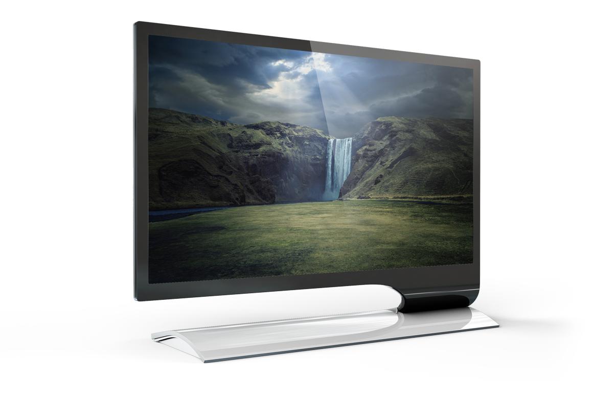 LED Monitor Mockup example image 14