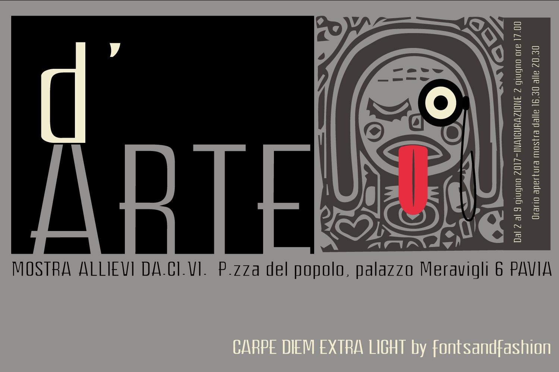 CARPE DIEM EXTRA LIGHT example image 1
