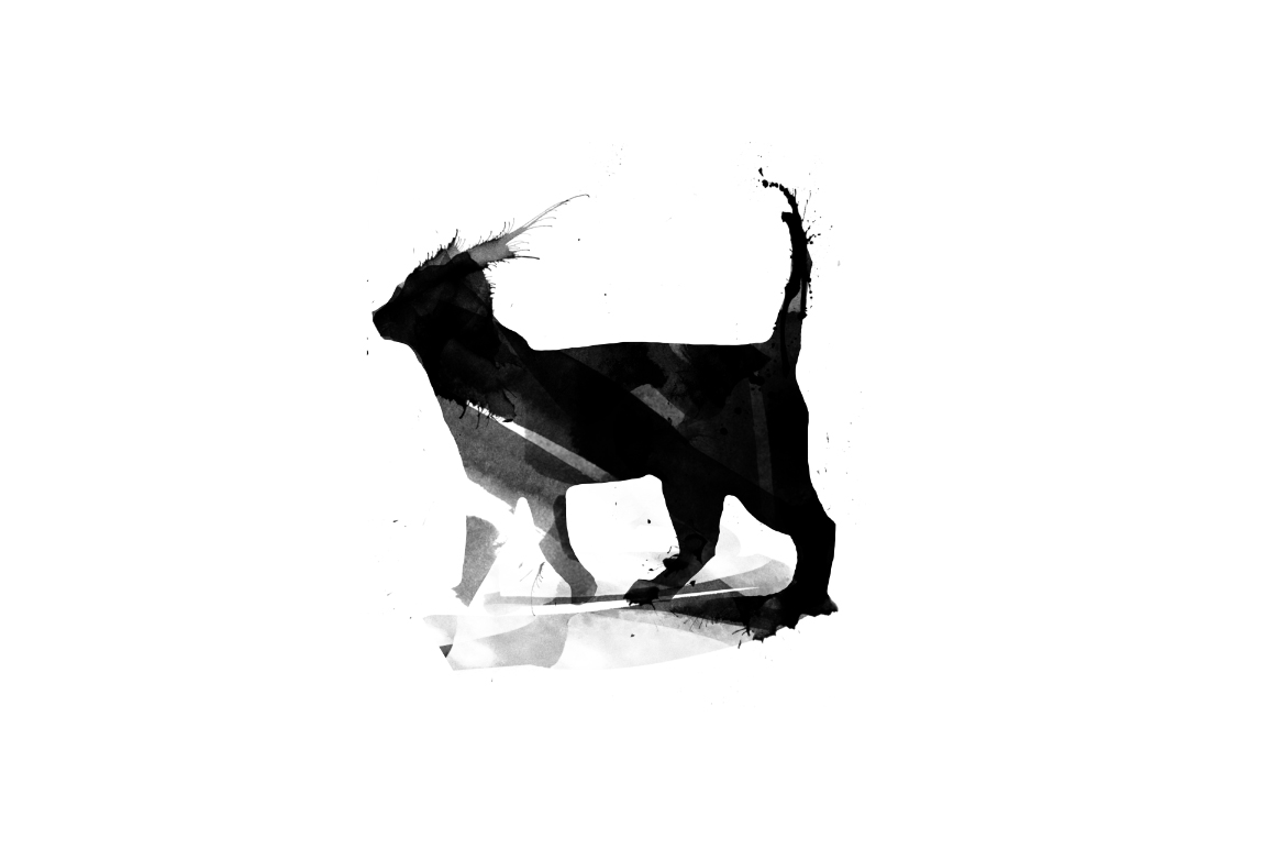 20 Illustration abstract Cats example image 2