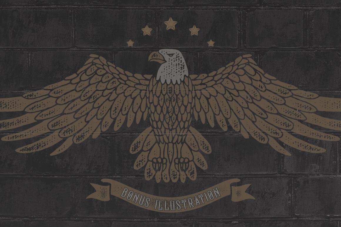 Bald Eagle Typeface example image 3