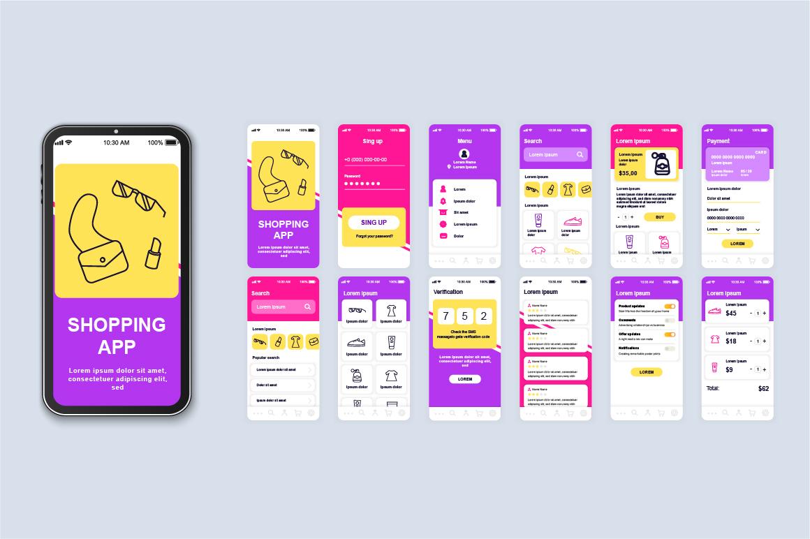 Bundle Mobile App UI Kit Screens example image 4
