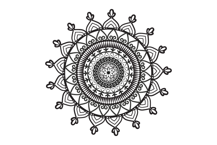 Mandalas. Round forms. example image 3