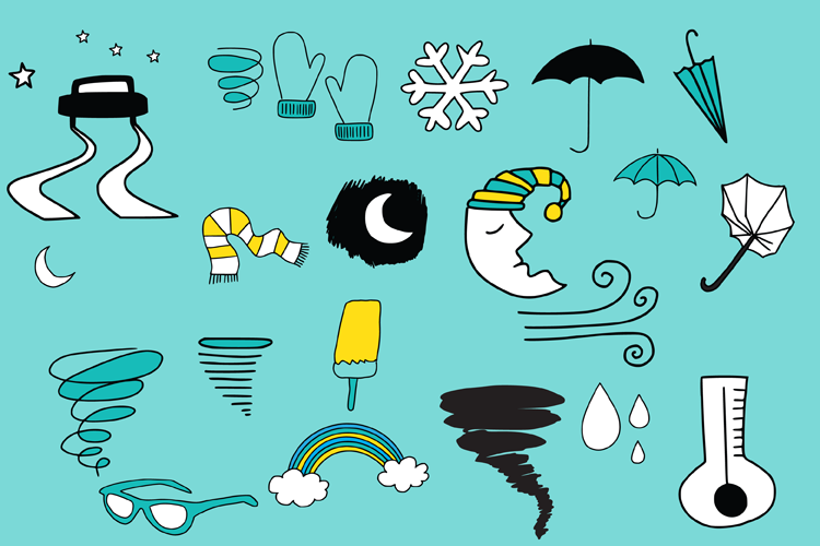 Weather Doodles example image 5