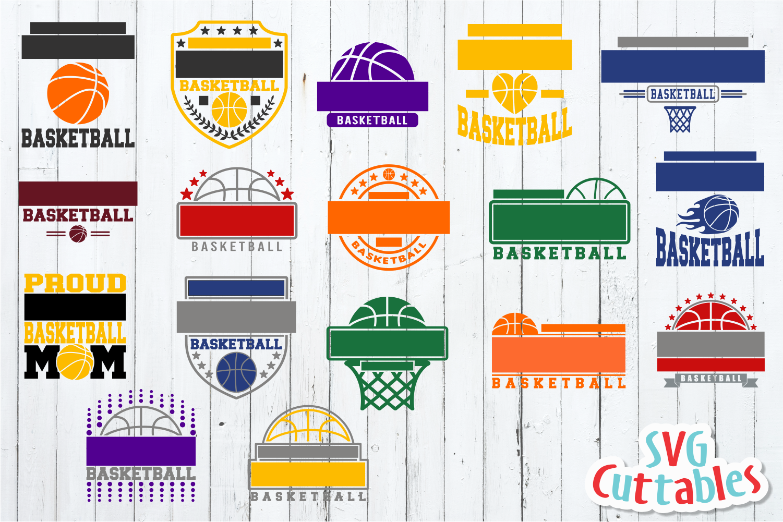 Basketball Bundle #1, svg cut files example image 10