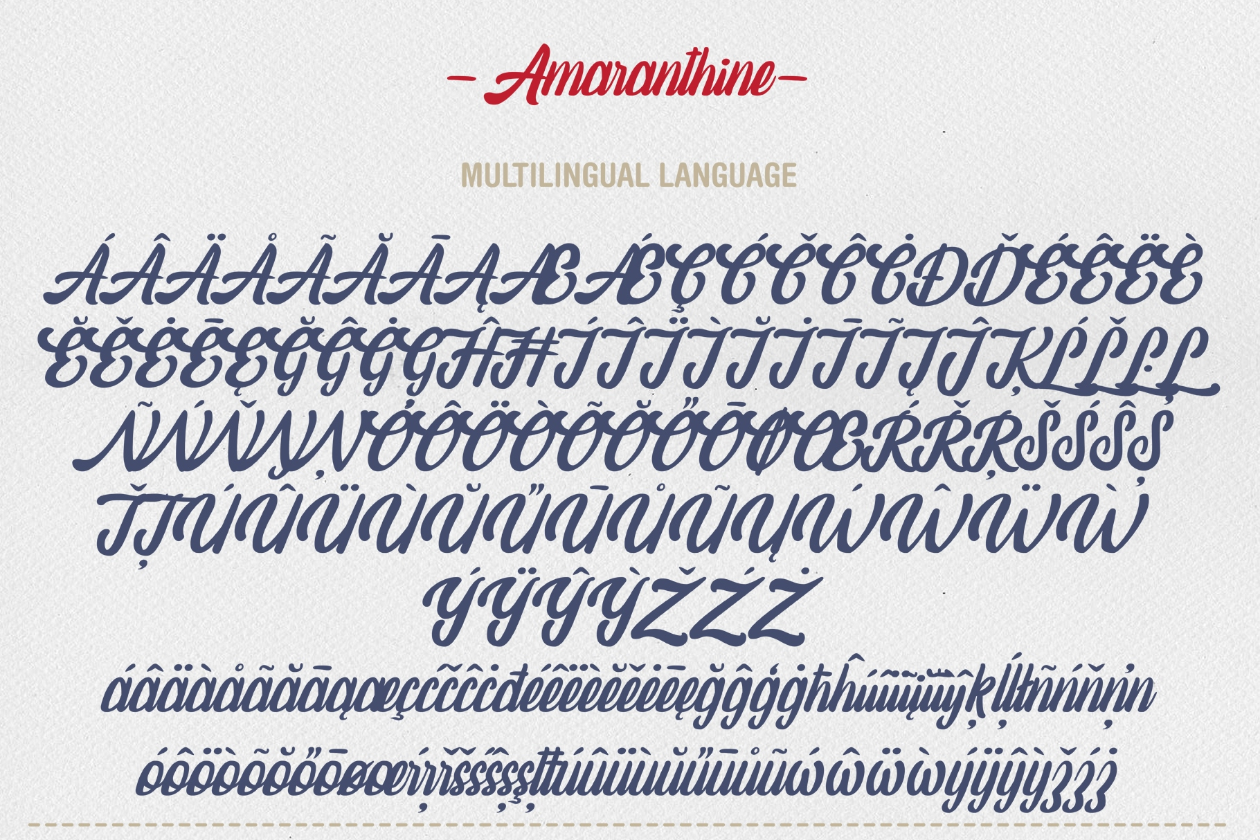 Amaranthine Script Font example image 9