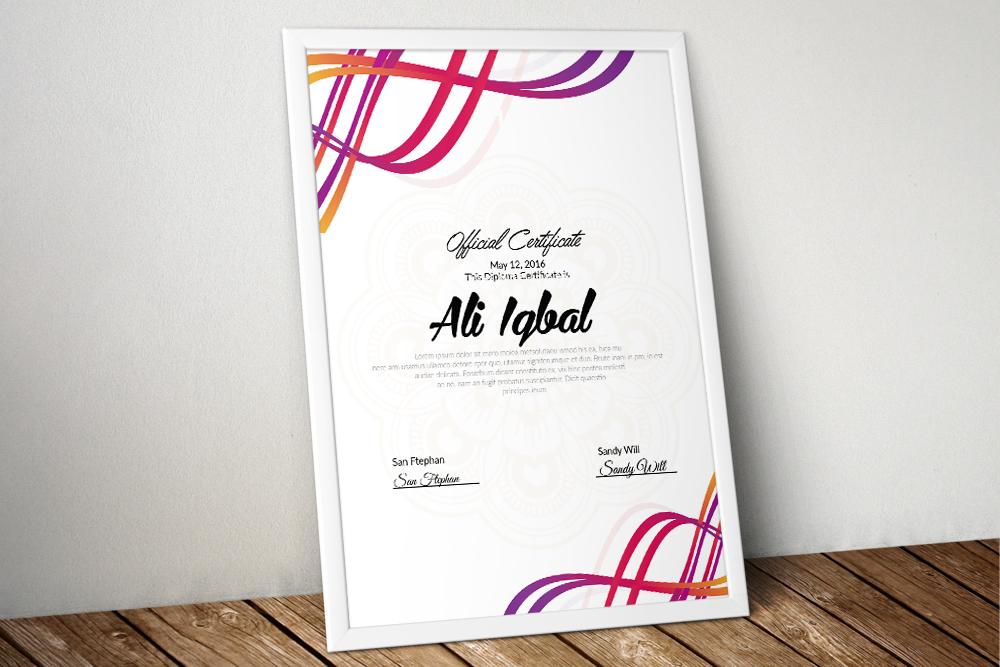 10 Certificates Template Bundle example image 7