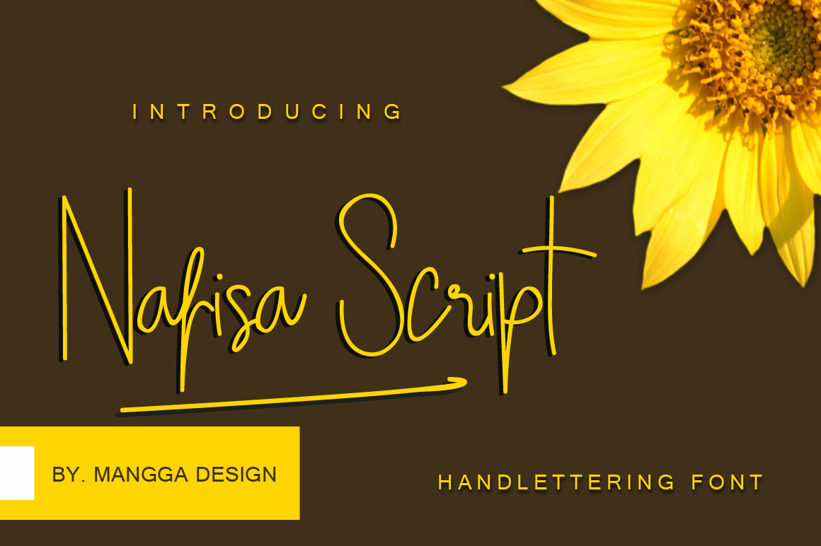 Nafisa Script example image 1