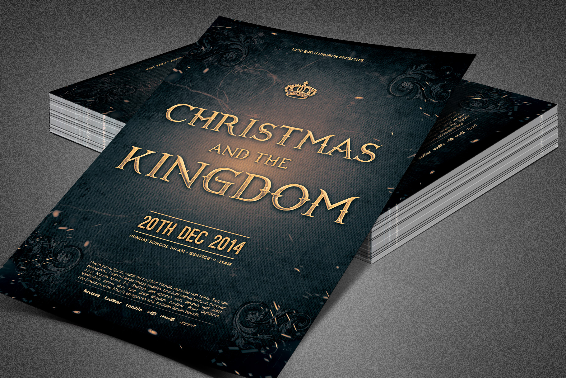 Christmas and the Kingdom Flyer example image 5