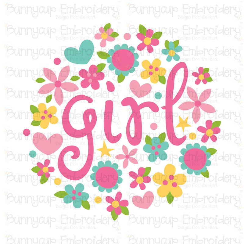 Baby Girl Sentiments- SVG, Cut Files, Clipart, Printables example image 14