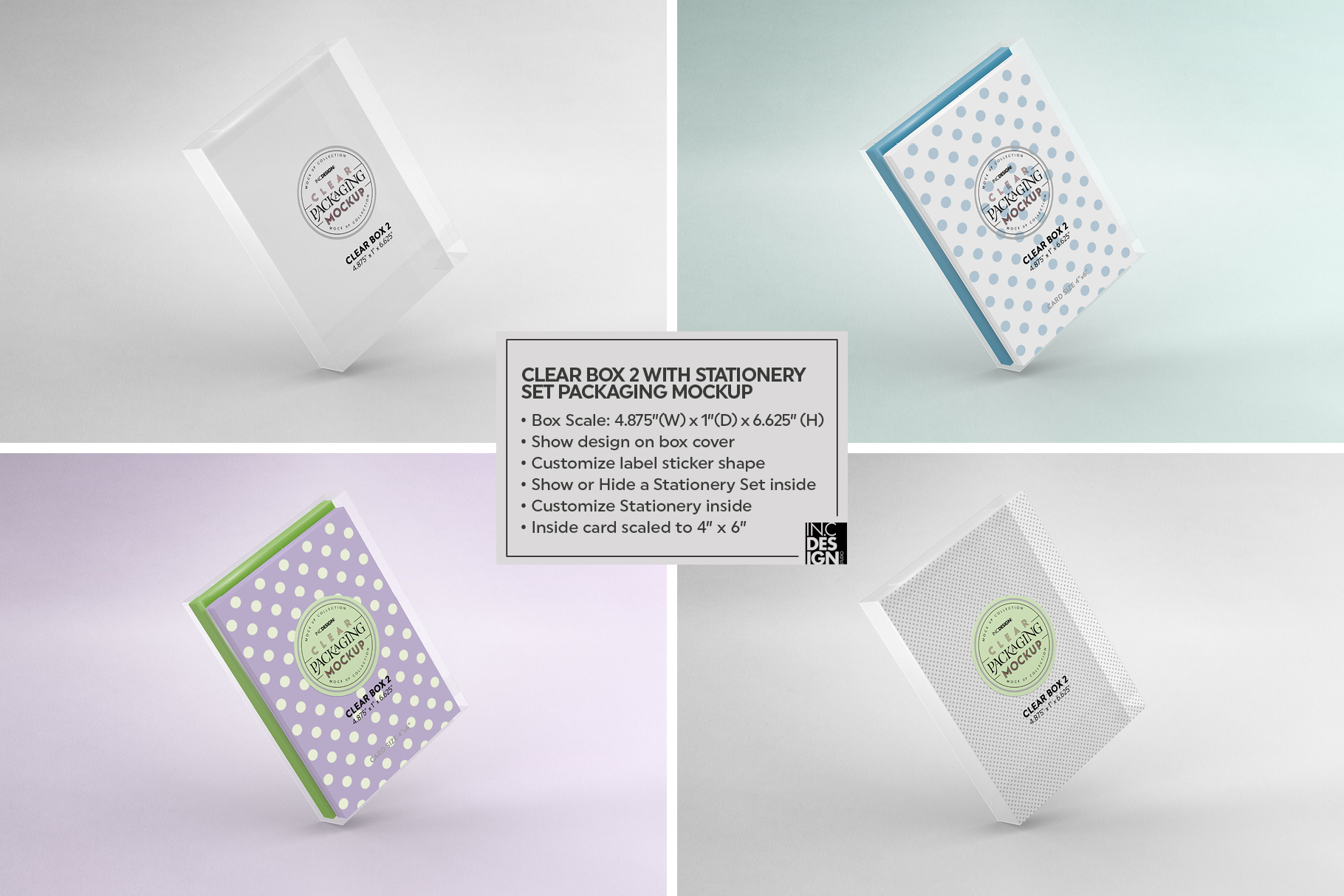 VOL.7 Clear Packaging Mockup Collection example image 15