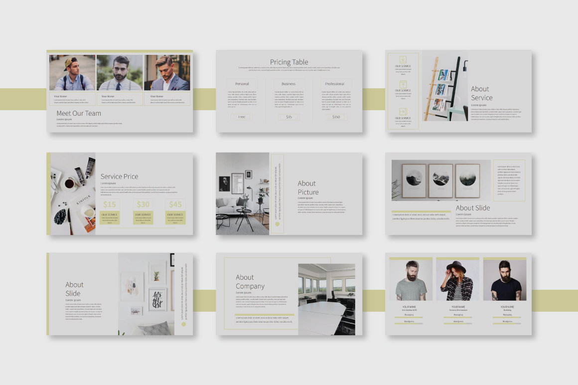 Garie Powerpoint Template example image 2