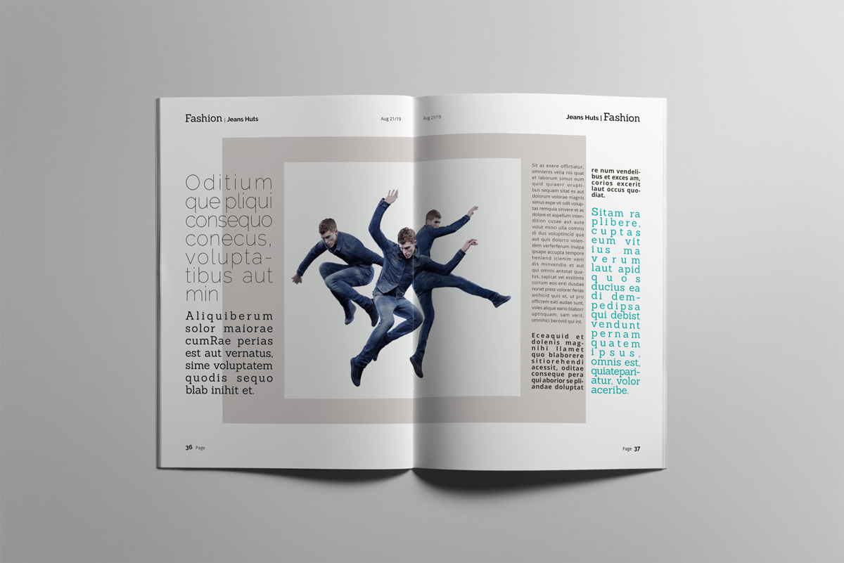 Magazine layout design example image 19