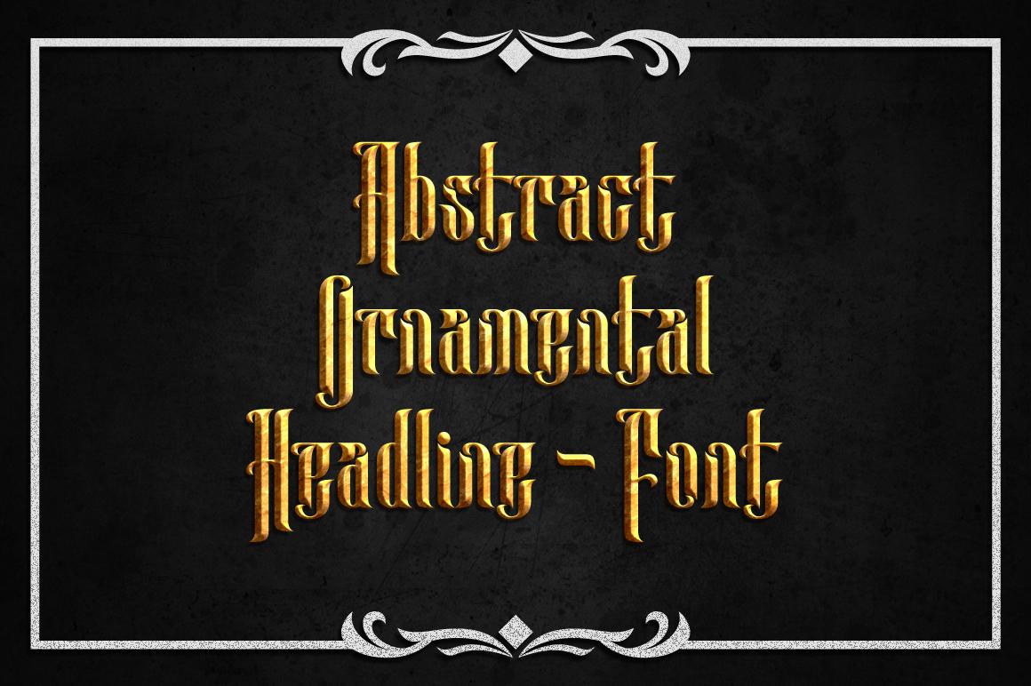 Anehena Typeface example image 2