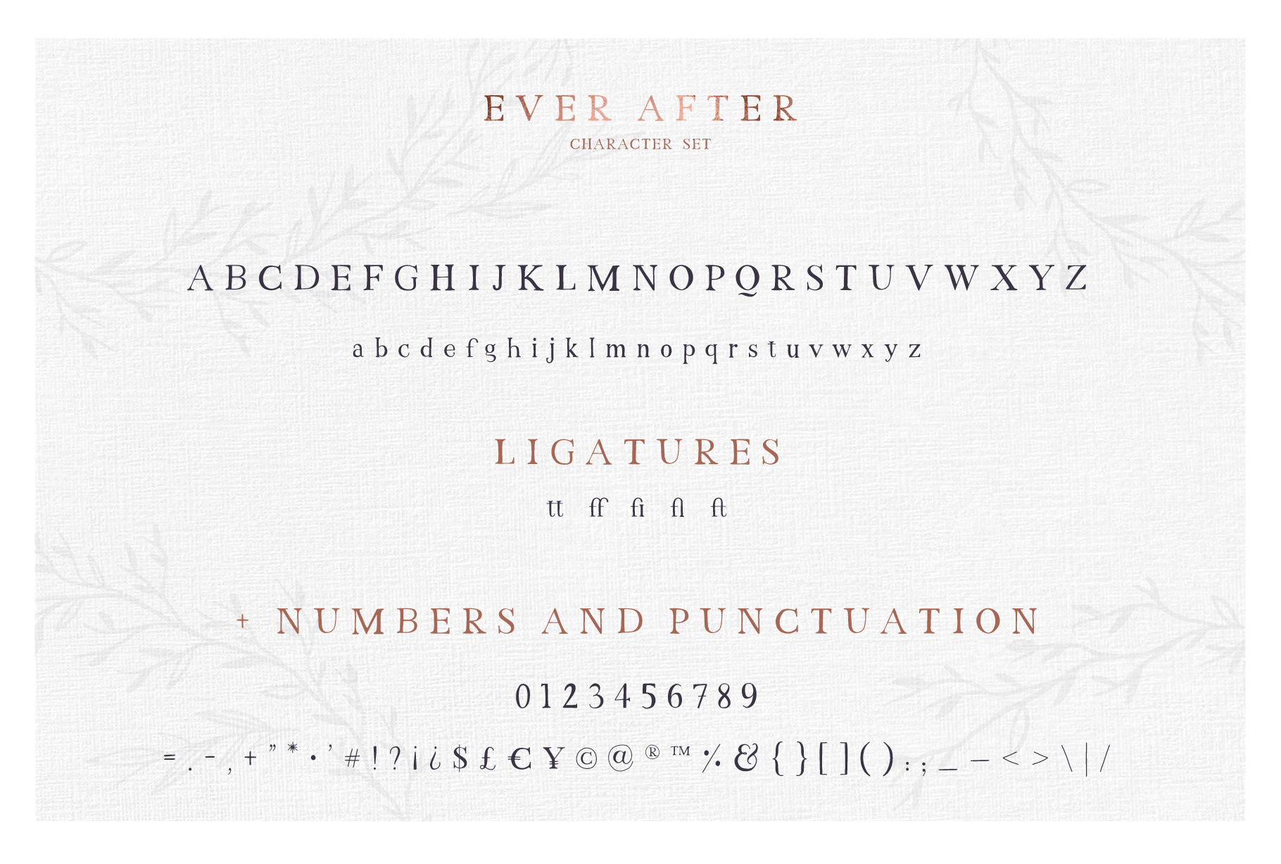 Just Married - Font Collection example image 6