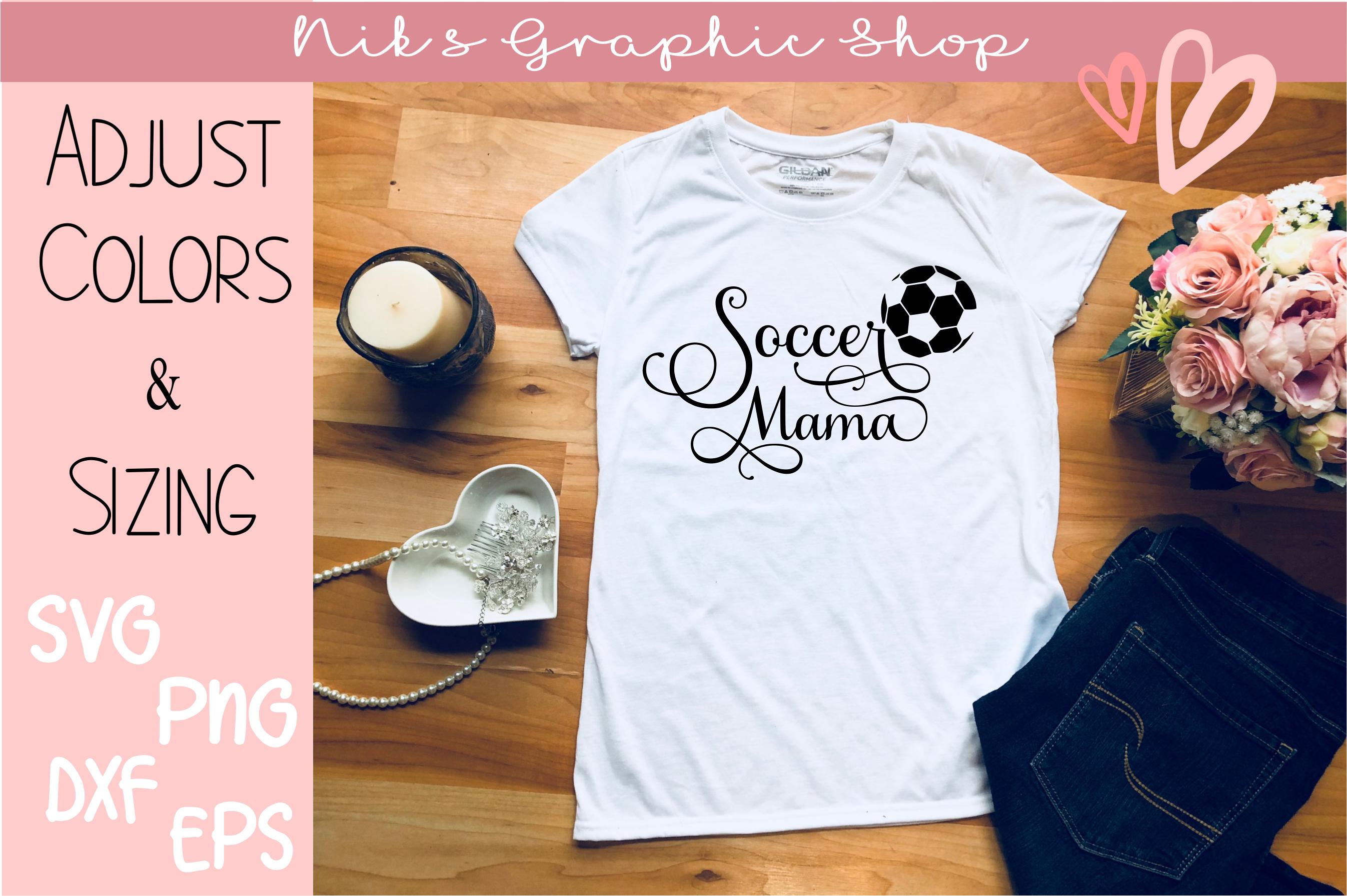 Soccer mama svg, soccer mom svg, soccer mama, Soccer Mom Svg example image 1