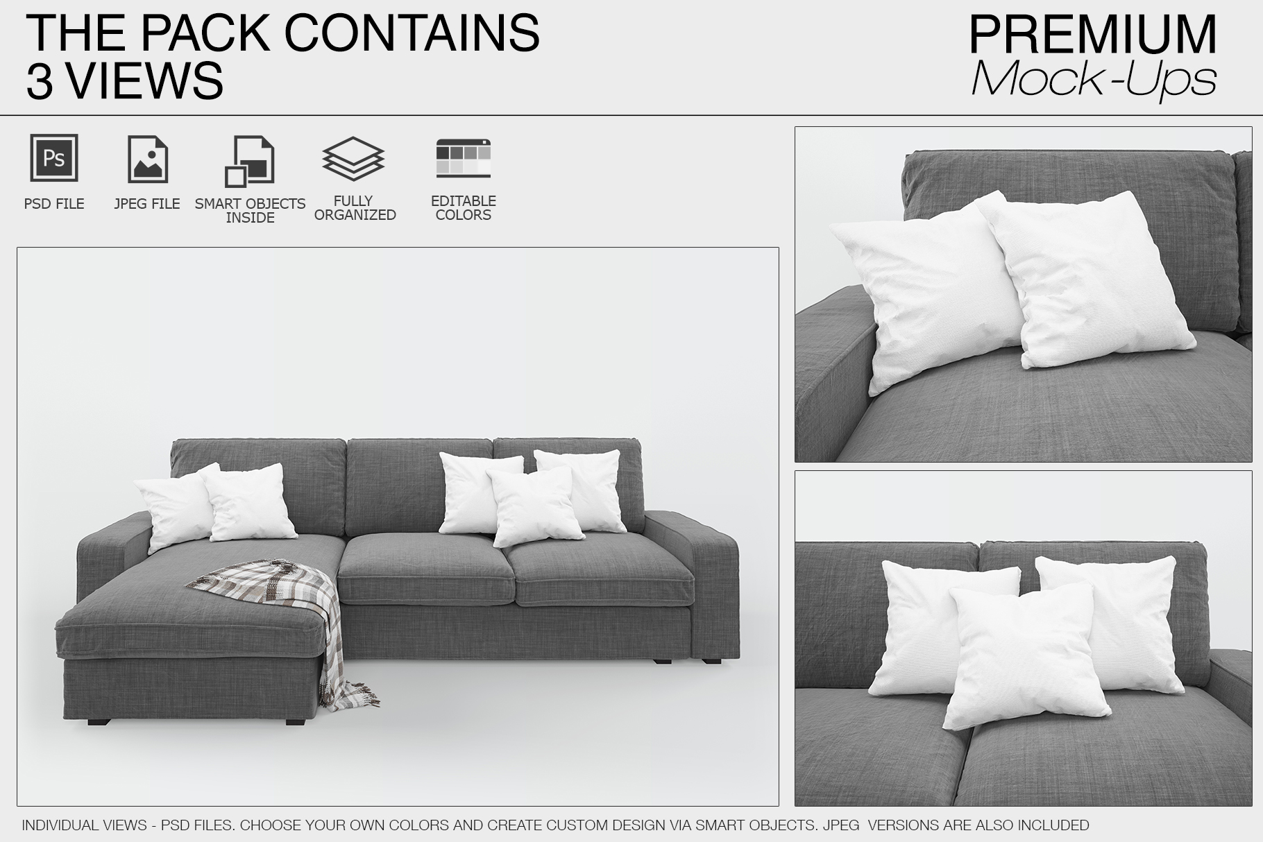 Pillow Mockups example image 5