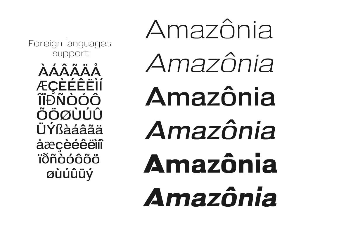 Amazon Sans Serif example image 2