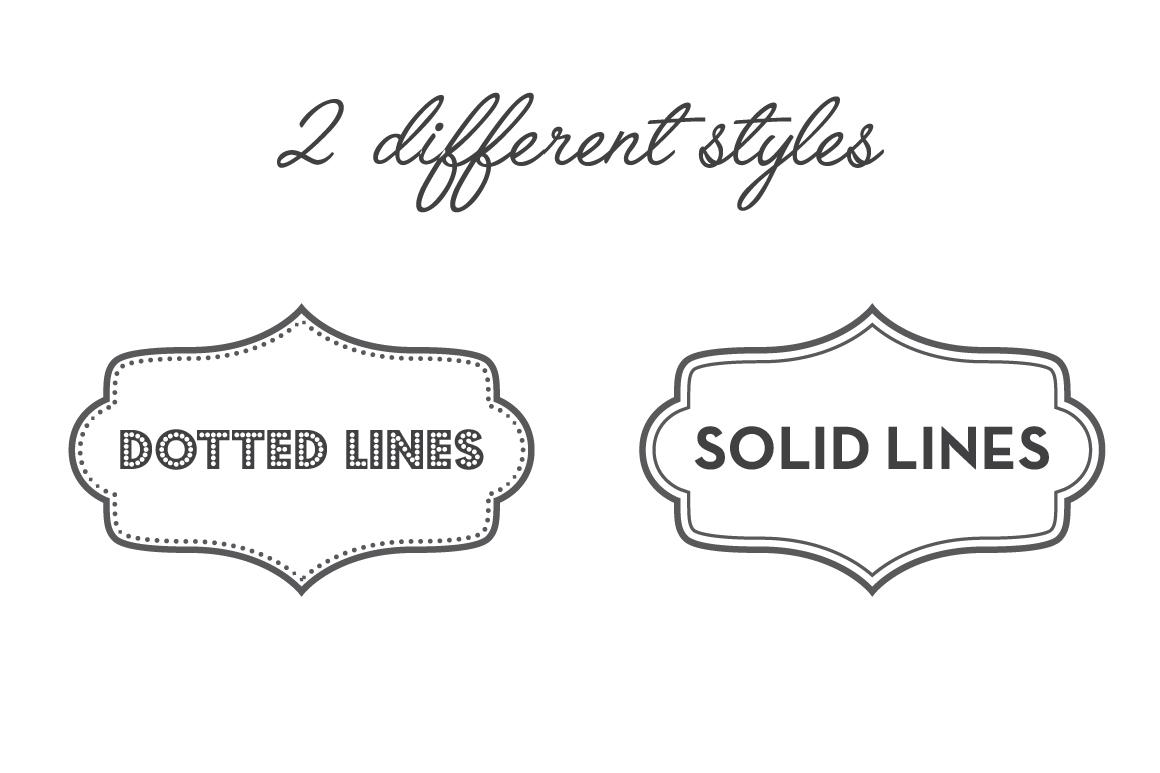 Vintage Frames, Labels, Badges example image 2