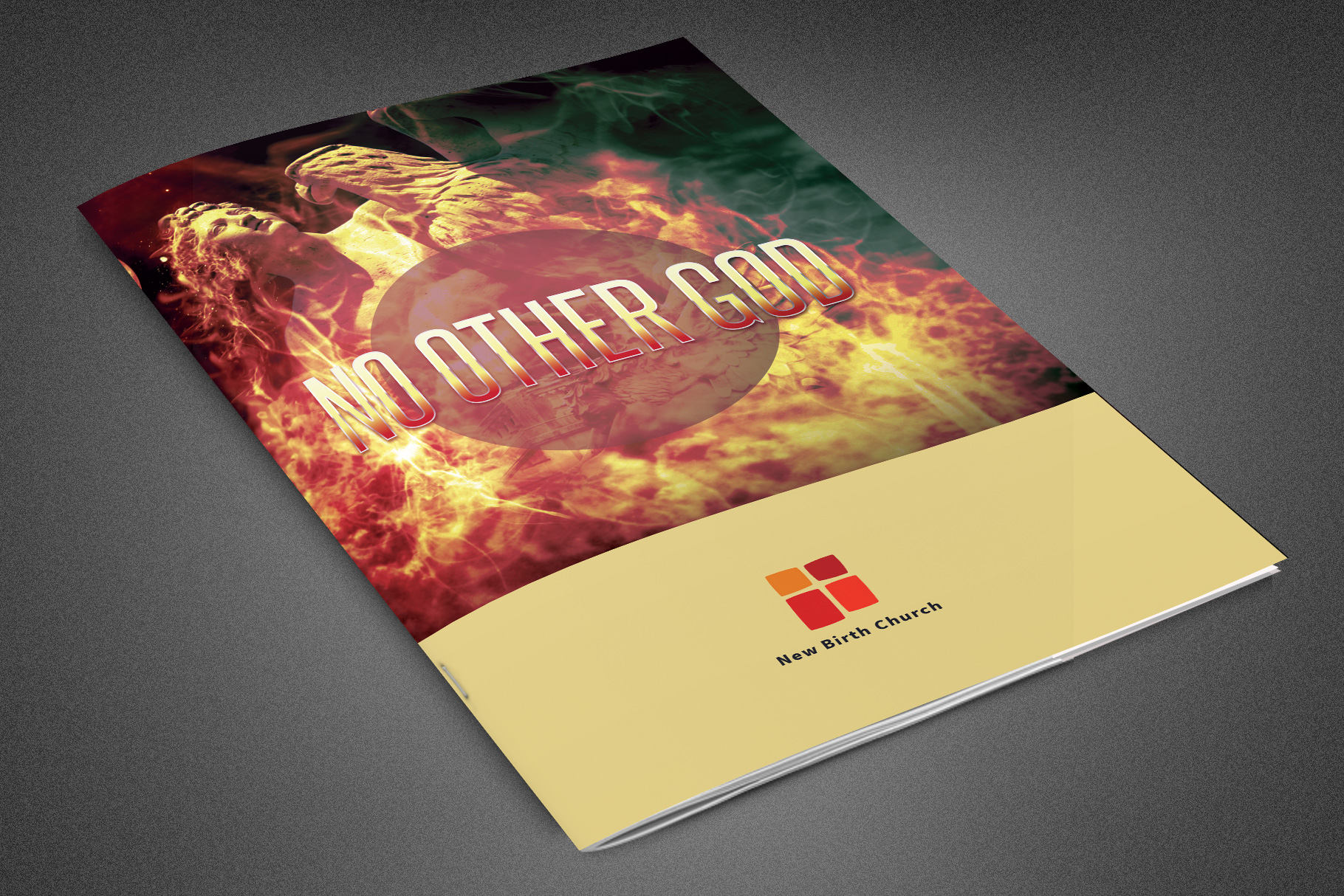 No Other God Church Bulletin example image 1