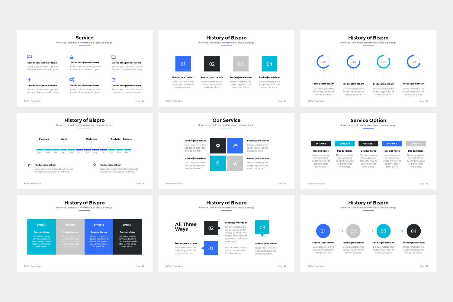BizPro | Proposal Powerpoint Template example image 2