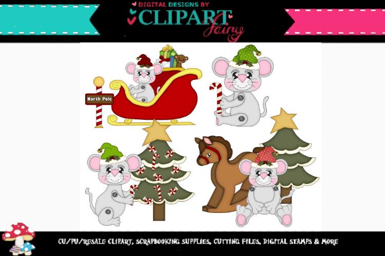 Christmas Mice 3 example image 1