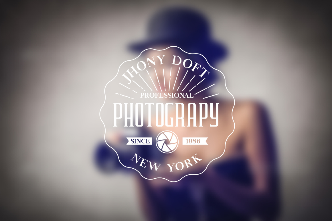 Vintage Badges for Photography example image 4