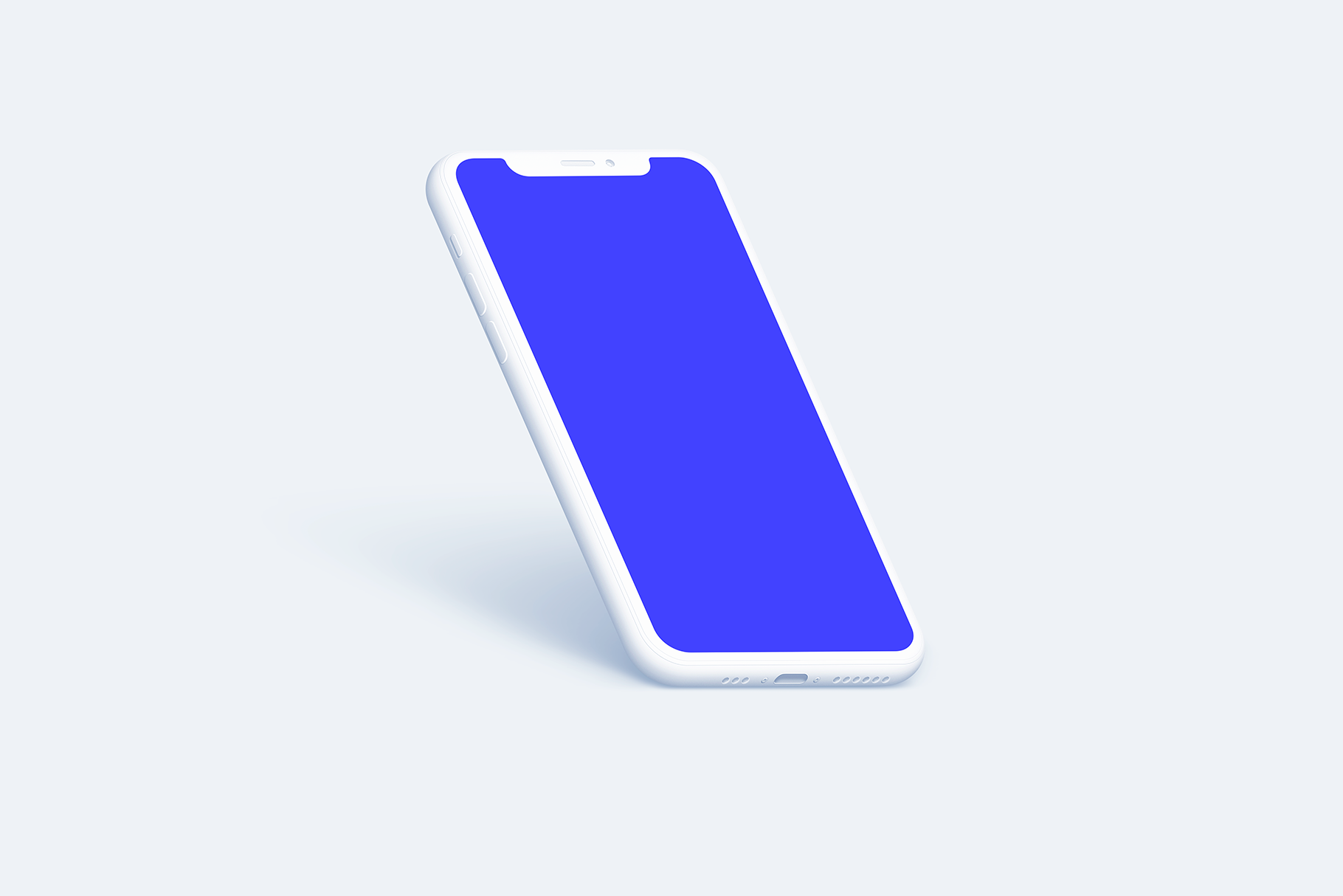 iPhone 11 Pro - 20 Clay Mockups Scenes - PSD example image 17