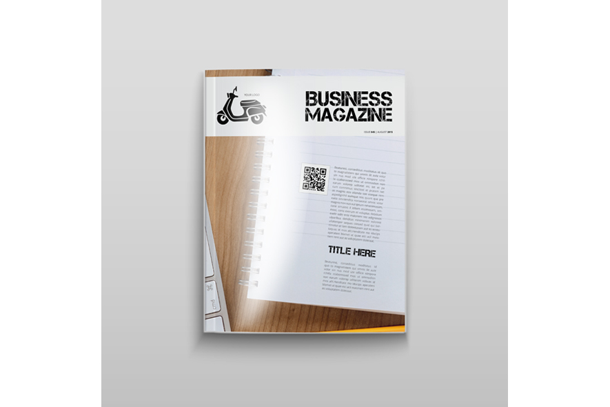 Business Magazine Template example image 7