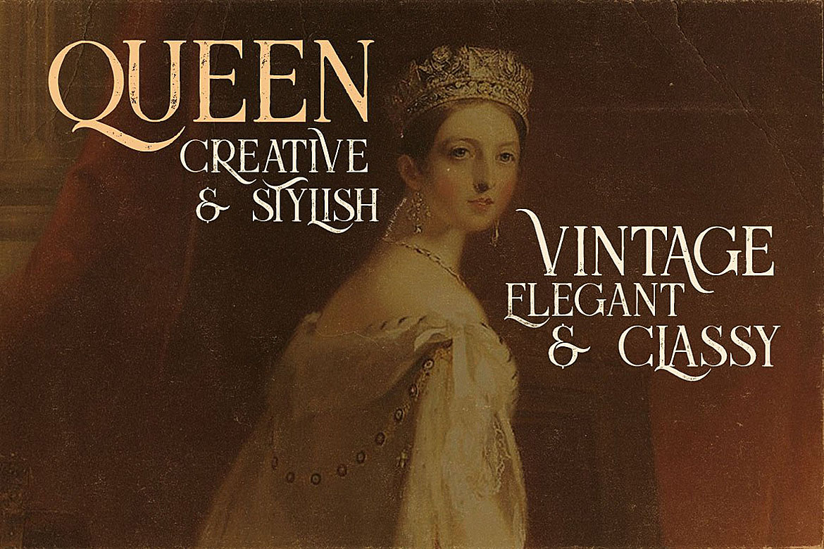 Queen - Display Font example image 2