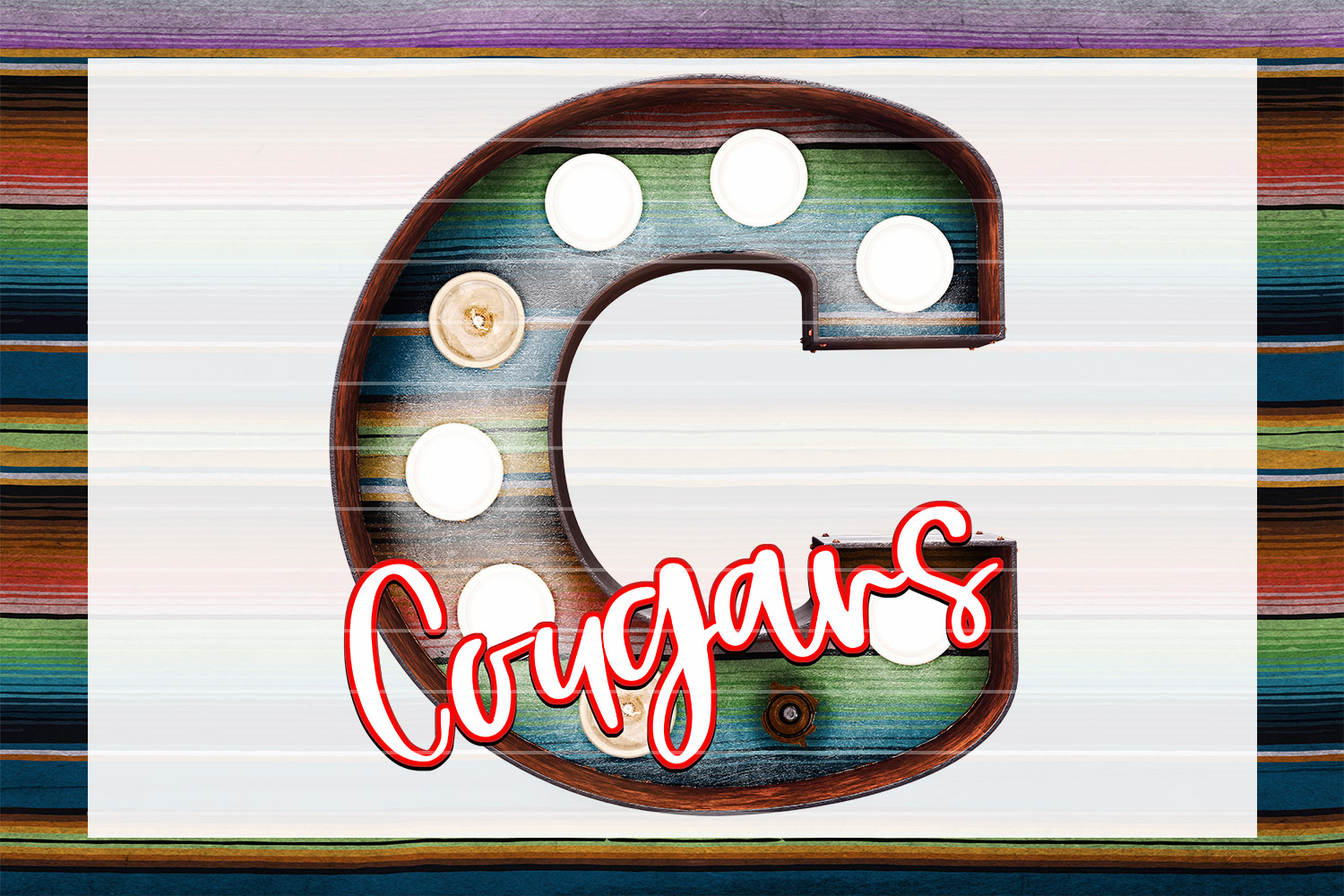 Cougars Marquee Bundle example image 2
