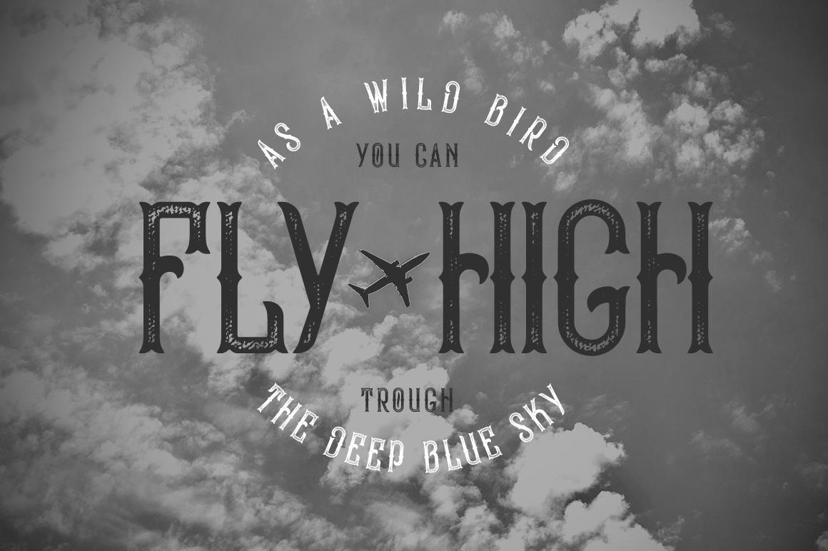 Bald Eagle Typeface example image 5