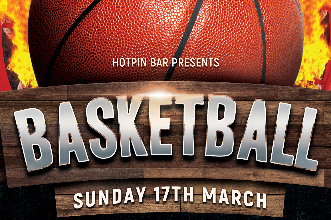 Basketball Flyer Template example image 2