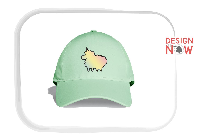 Unicorn Sheep Applique Embroidery Design, Unicorn Embroidery example image 7