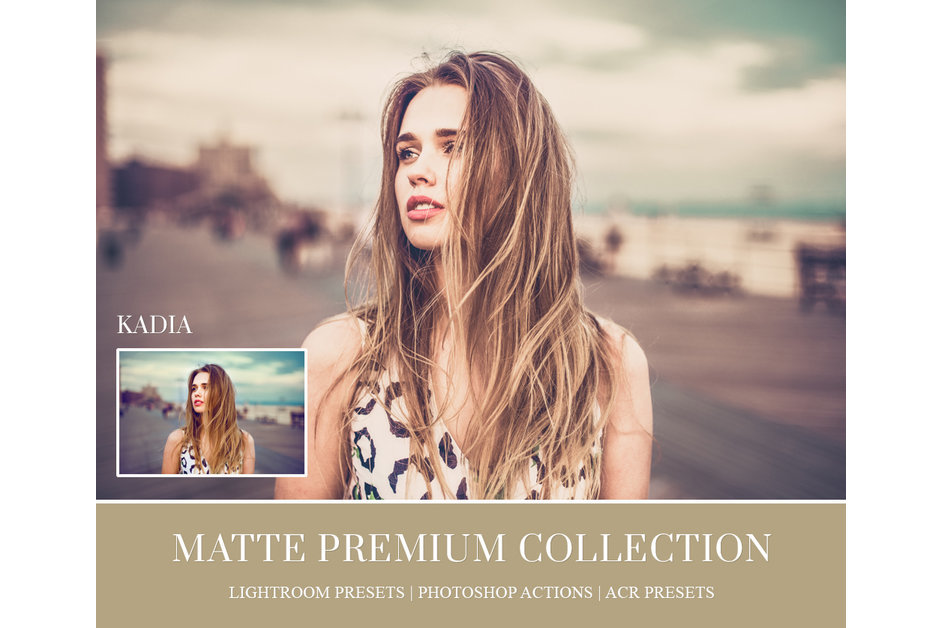 MATTE LIGHTROOM PRESETS, PHOTOSHOP ACTIONS AND ACR PRESETS example image 3